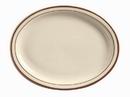Desert Sand 9.5 Inch Platter 12 Per Pack - 1 Per Case