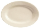 World Tableware PWC-12 Platter 10 3/8 Undecorated White 24-1 Each