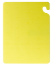 San Jamar 18 Inch X 24 Inch X .5 Inch Cut-N-Carry Yellow Board 1 Per Pack