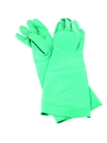 San Jamar 19NU-L Nitrile Pot & Sink Glove 25 Mil 19 Length Green