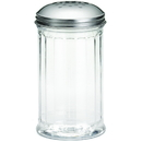 Tablecraft 12 Ounce Perforated Top Shaker 24 Per Pack - 1 Per Case