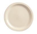 Kingsman White 9.25 Inch Cream White Narrow Rim Plate 36 Per Pack - 1 Per Case