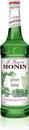 Monin Green Mint Syrup 750 Milliliter Bottle - 12 Per Case