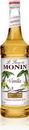 Monin Vanilla Syrup 750 Milliliter Bottle - 12 Per Case