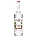 Monin Pure Cane Syrup 750 Milliliter Bottle - 12 Per Case