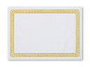 Smith Lee PP37640 Placemat Paper Gold Greek Key 10X14 Economy Line