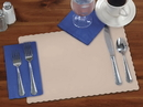 Smith Lee 9.5 X 13.375 Beige Economy Line Paper Placemat 1000 Eaches