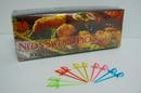 Goldmax Assorted Neon Sword Pick 1000 Per Pack - 10 Per Case