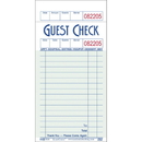 National Checking Guest Check 16 Line 1 Part Green Shrink Wrap 1-5000 Each