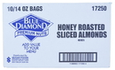 Almond Almond Toppers Honey Brown Sugar 10-14 Ounce