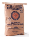 Gold Medal Hotel & Restaurant Bakers All Purpose Enriched Bleached Flour 50 Pounds Per Pack - 1 Per Case