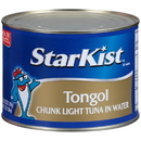 Starkist Chunk Light Tongol Tuna In Water 66.5 Ounce Can - 6 Per Case