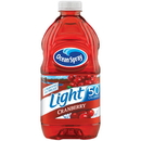 Ocean Spray Light 50 Calories Cranberry Juice 64 Fluid Ounce Bottles - 8 Per Case