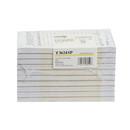 National Checking 3.5 Inch X 6.75 Inch 1 Part Tan 15 Line Guest Check 100 Per Book - 10 Per Pack - 5 Per Case