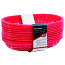 Cash & Carry Oval Red Basket Hdpe