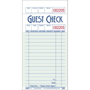 National Checking Company 1 Part 16 Line Green Guest Check 5000 Guest Checks - 1 Per Case