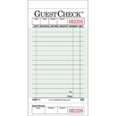 National Checking Guest Check Board 2500 Per Case