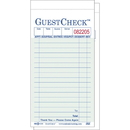National Checking Company 2 Part 16 Line Carbon Green Guest Check 2500 Guest Checks - 1 Per Case