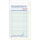 National Checking Company 1 Part 16 Line Board Green Guest Check 2500 Guest Checks - 1 Per Case