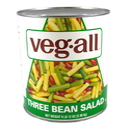 Veg-All 3 Bean Salad 108 Ounces - 6 Per Case