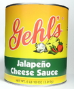 Gehl'S Jalapeno Cheese Sauce #10 Cans - 6 Per Case