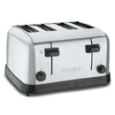 Waring Commercial WCT708-3 Comml 4-Sl Toaster Chrome Single Pack