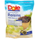 Dole California Seedless Raisin 12 Ounce Pouch 12 Per Case