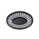 Tablecraft 8.5 Inch X 5.5 Inch X 2 Inch Black Oval Basket 36 Per Pack - 1 Per Case