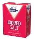 Diamond Crystal Vegan Iodized Table Salt 4 Pound Box - 12 Per Case