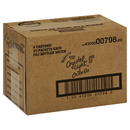 Crystal Light Sugar Free Raspberry On The Godrink Mix .8 Ounce Packs - 30 Per Box - 4 Per Case.