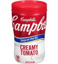 Campbell'S On The Go Creamy Tomato Soup 11.1 Ounce - 8 Per Case