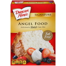 Duncan Hines Sign Angel Food Cake Mix 16 Oz