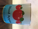 Commodity Three Apple Sliced Apple In Water #10 Can - 6 Per Case
