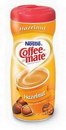 Coffee-Mate Hazelnut Powder Creamer 15 Ounces Per Canister - 12 Per Case
