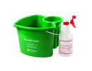 San Jamar Kleen-Pail Caddy 1 Green Caddy And 1 Spray Bottle 1 Per Pack