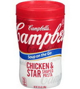 Campbell's 000015076 Soup On The Go Chicken & Stars 8-10.75 Ounce
