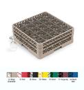 Traex 25 Compartment Beige Glass Rack 1 Per Case