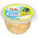 Dole Diced Pear In Juice 4 Ounce Cups - 36 Per Case