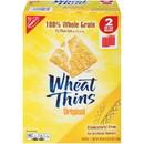 Nabisco Wheat Thins Crackers Supercarton 2.5 Pounds - 4 Per Case