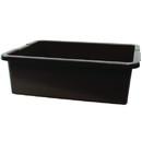 Tablecraft 7 Inch Heavy Brown Tote Box 1 Per Pack - 6 Per Case