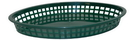 Tablecraft 1086FG Jumbo Platter Basket Forest Green