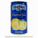 Bluebird Ss Unsweetened Grape Juice From Concentrate 5.5 Ounce - 48 Per Case
