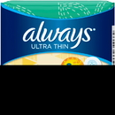 Always Ultra Thin Regular With Wings Pads 10 Per Pack - 12 Packs Per Case