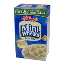 Kellogg'S Mini Wheats Unfrosted Whole Grain Bite Size Cereal 1.2 Ounces Per Box - 70 Per Case