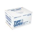 Tuff Gards 6.5 Inch X 9 Inch High Density Roll Pack Clear Twist Tie Freezer Storage Bag 2000 Per Pack - 1 Per Case