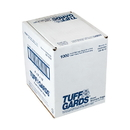 Handgards Tuffgards Low Density Poly Roll 4 Inch X 2 Inch X 12 Inch Food Bag 1000 Per Pack - 1 Per Case