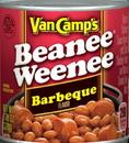 Van De Kamp's 5200031247 Van Camp's Barbeque Beanee Weenee Bbq Beans & Hot Dogs 7.75 oz. (Pack Of 24) 7.75 oz