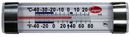 Cooper Horizontal Refrigerated Freezer Thermometer 1 Per Pack - 1 Per Case