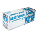 Handgards Neatgards Heavy Duty Smooth White Poly Apron 100 Per Pack - 1 Per Case