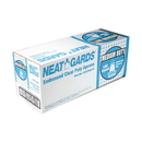 Handgards Neatgards Medium Duty Embossed Clear Poly Apron 100 Per Pack - 1 Per Case
